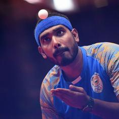Asian Games table tennis: Sharath, Sathiyan and Manika lose in singles pre-quarters