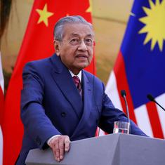Malaysia cancels China-funded rail link and gas pipeline projects to reduce its national debt