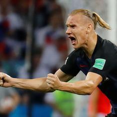 Fifa World Cup: Croatia defender Domagoj Vida escapes ban over pro-Ukraine celebration
