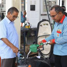 Price of petrol rises to all-time high of Rs 86.56 a litre in Mumbai, breaches Rs 79 in Delhi