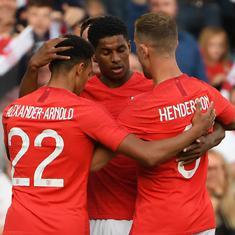 Marcus Rashford scores stunner as England down Costa Rica 2-0, Portugal beat Algeria 3-0