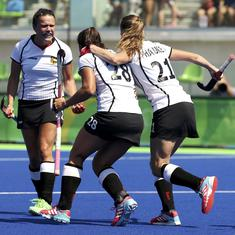 Women's hockey World Cup: Germany beat Argentina 3-2 as England draw against US