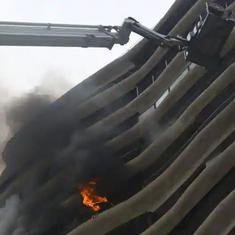 Mumbai: Four dead, 18 injured in fire at residential building in Parel area