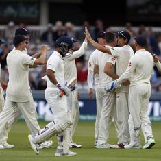 'Lack of technique as well as heart': Twitter critical of India's struggles with swing at Lord's