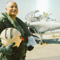Amid controversy, Air Force deputy chief test-flies Rafale jet in France