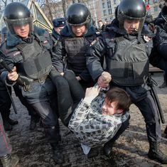 Russia's Opposition leader, hundreds of others arrested during countrywide anti-corruption protests