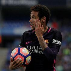 Barcelona launch desperate bid to get Neymar to play in the El Clasico
