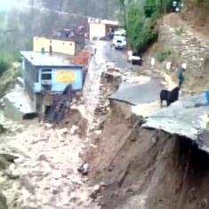 Video: Saturday's cloud burst in Uttarakhand  ignites fears of 2013-like catastrophe