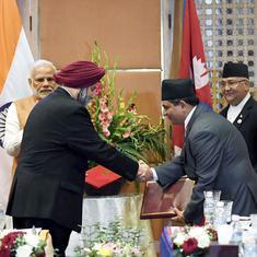 India and Nepal sign agreement to build railway line between Kathmandu and Bihar's Raxaul