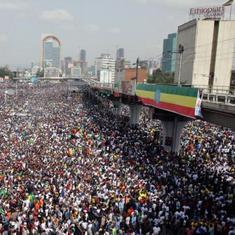 इथोपिया : प्रधानमंत्री की रैली में धमाका