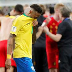 'Welcome to the Euros': Twitter left in awe as Belgium knock Brazil out of the World Cup