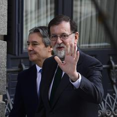 Spanish PM Mariano Rajoy resigns ahead of trust vote in Parliament