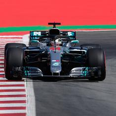 Spanish GP: Mercedes' Bottas and Hamilton top first two practice sessions in windy Barcelona