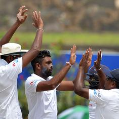 73 all out: Sri Lanka take 1-0 lead after South Africa's dramatic collapse to spin in first Test