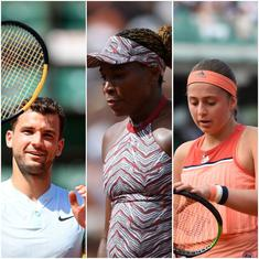 French Open Day 1 highlights: Venus and Ostapenko exit as Dimitrov begins with win