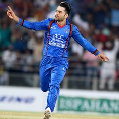 Rashid Khan stars again as Afghanistan clinch T20 series with six-wicket win over Bangladesh