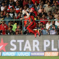 'Spider-man at Chinnaswamy': Twitter reacts as De Villiers pulls off gravity-defying catch