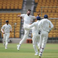 Mohammed Siraj on song once again as India A push South Africa A towards big defeat