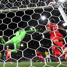 World Cup, round of 16 as it happened: Eric Dier scores winning penalty as England make quarters