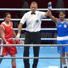 Asian Games boxing: Pavitra through to quarter-final with commanding win over Pakistan's Rukhsana