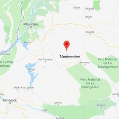 At least 50 die after boat capsizes in a river in the Democratic Republic of Congo