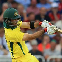 Maxwell powers Australia to thrilling T20 win over Zimbabwe