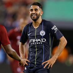 Manchester City winger Riyad Mahrez cleared to return to training, could play in Community Shield