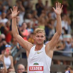 Kevin Mayer sets a new world record in the decathlon with 9126 points