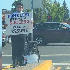 अमेरिका : बेरोजगार ने अनूठा तरीका अपनाया, 200 से भी ज्यादा नौकरियों के ऑफर मिले