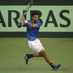 Indian Wells: Qualifier Yuki Bhambri upsets ninth seed Lucas Pouille to reach third round