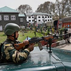 Srinagar: Security heightened as violence reported in several areas ahead of by-polls today
