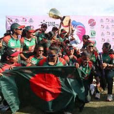 Bangladesh women stun India again to script historic Asia Cup win with dramatic last-ball finish