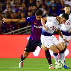 International Champions Cup: Barcelona edge past Tottenham on penalties after 2-2 draw