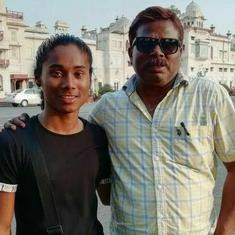 It's false and fabricated: Hima Das' coach denies sexual assault accusation