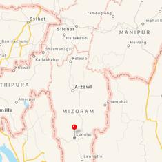 Mizoram: 21 killed in bus accident and landslide in Lunglei district