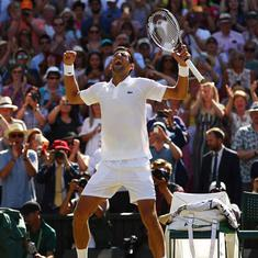 'Never count the greats out': Twitter welcomes Djokovic's return to winning ways at Wimbledon