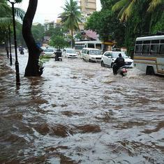 तस्वीरों में : सिर्फ एक दिन की बारिश ने गोवा का क्या हाल कर दिया है!