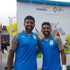 Bopanna and Sharan use own kits at Asian Games as official supplier gives them pocket-less shorts