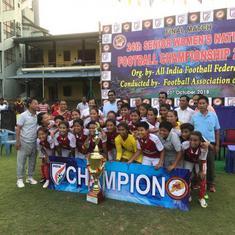 Football: Manipur defeat Odisha 2-1 to lift women's National Championships title
