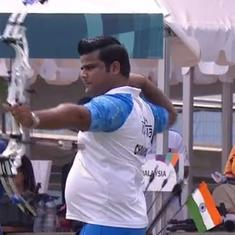 Asian Games: India bag silver in men's archery compound team event after dramatic final shoot-off