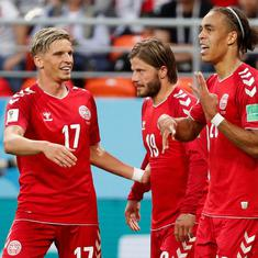 World Cup, Group C, Denmark vs Australia as it happened: Australia dominate but Danes get a draw