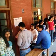 Voting under way for Delhi University Students' Union elections, results to be out on Thursday