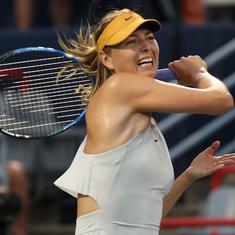 Five-time Grand Slam winner Maria Sharapova announces retirement from tennis at 32