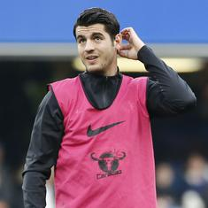 After a mediocre Premier League season, Morata excluded from Spain's World Cup squad