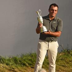 British Open: Francesco Molinari becomes the first ever Italian major champion