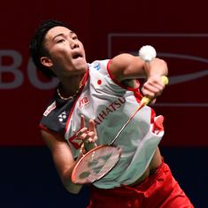 Japan Open: Mixed day for hosts as Momota wins men's title, Marin defeats Okuhara in final