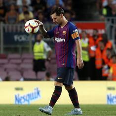Lionel Messi is the best despite Modric winning Fifa award: Barcelona coach Valverde