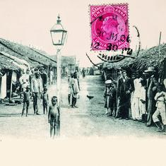 How the British used postcards as a propaganda tool during the Bombay plague of 1896