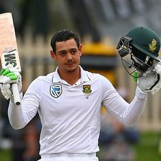 Quinton de Kock cleared to play deciding Test against New Zealand despite carrying finger injury