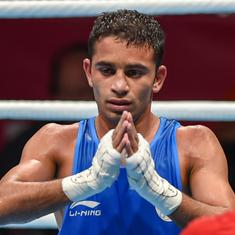 Boxing: Amit Panghal seeded second, gets bye to last-16 along with three others at World C'ships